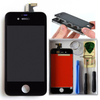 Tela Iphone 4 A1332 Lcd Touchscreen Preto + Kit Chaves