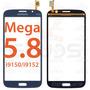 Tela Touch Samsung Galaxy Mega 5.8 Duos I9150 I9152 - Azul