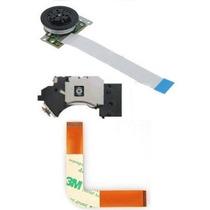 Kit Leitor Óptico+flat L+motor Playstation 2 Ps2 7xxxx Slim