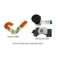 Kit Leitor+motor+flat J Playstation 2 Slim 90xxx Ps2 Lente