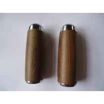 Manopla Ou Punhos De Madeira Feitos De Imbuia 24mm