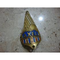 Emblema/escudo/chapinha Da Rara Bicicleta Nacional Axel