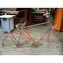 Quadro Peças Bicicleta Gericke Antiga Podre Só Pra Decoração