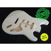 Corpo De Guitarra Mod. Stratocaster Madeira Marupá!
