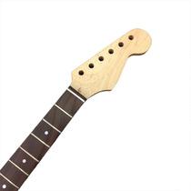 Braço Guitarra Stratocaster 21 Trastes Escala Em Rosewood...