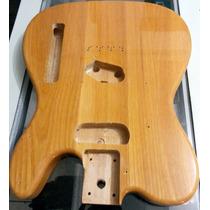 Corpo De Guitarra Telecaster Em Ash Pronto Para Montar