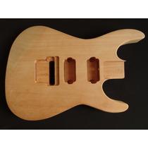Corpo De Guitarra Em Mogno Inteiriço Estilo Jackson Dinky