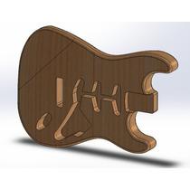 Corpo De Guitarra Stratocaster Padrão Fender Hss Em Tauari!