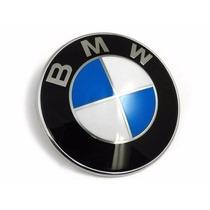 Emblema Bmw E46 Tampa De Mala 74mm Trazeiro