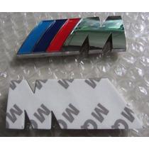 Emblema M Cromado Bmw Série M3 M5 M6 1 3 4 5 6 7 X1 X3 X4 X5