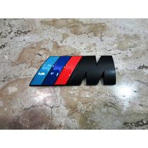 Bmw M Motorsport Emblema Traseiro (porta Mala) 8cm/3cm