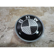 Bmw Emblema Roda 70mm Unidade Reposição Carbono Original***