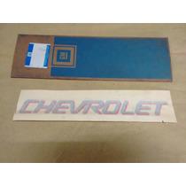 Decalque Chevrolet Tampa Traseira Prata Kadett Sport Ipanema