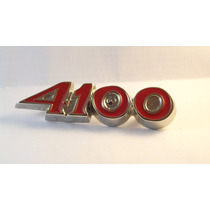 Emblema 4100 Opala Ss Caravan 6cc Gran Luxo D Metal Comodoro