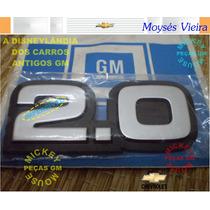 Emblema 2.0 Prata Monza Sl/gl/sle/gls Classic Hatch Sr 87-90