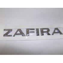 Emblema Cromado Zafira Linha Chevrolet 2002 Em Diante