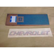 Adesivo Chevrolet Tampa Tras Prata Kadett Sport Ipanema Orig