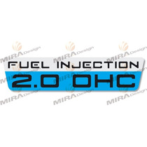 Adesivo Para Filtro De Ar Chevrolet Monza E Kadett 2.0 Ohc