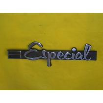 Emblema Especial Opala 69 A 74 Paralamas Dianteiro