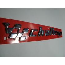 Emblema Challenge Cromado 2002 Em Diante (linha Gm)