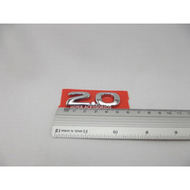 Emblema 2.0 Corsa Vectra Kadett Ipanema Omega 96/01 Cromado
