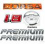 Emblemas Corsa Hatch 1.8 Premium - 03 À 07 - Modelo Original