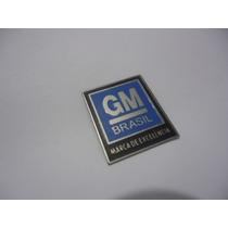 Emblema Opala Cinto C10 Segurança Fivela Grade Friso 6c Ss