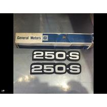 Emblema 250-s Opala Novo E Original Gm