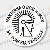 Adesivo Pompéia Veículos Aplicação Vidro Interno Mira Design