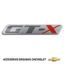 Emblema Gt-x Vectra Novo Hatch Original Gm 94709694