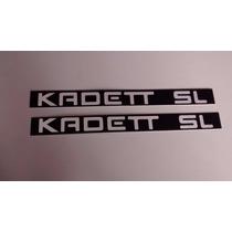 Emblema Plaqueta Do Friso P/ Kadett Sl - Peça Nova!