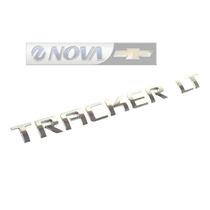 Emblema Tampa Traseira Tracker 2014 Em Diante