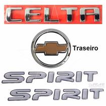 Kit Emblemas Celta Spirit - 2007 À 2011 - Modelo Original