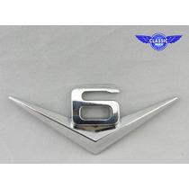 Emblema V6 Mustang Jeep Ford Dodge Gm Ranger S10 Hundai Hot