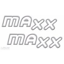 Par Adesivo Corsa Maxx - Prata - Até 2007 - Modelo Original