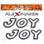 Emblemas Corsa Hatch Joy Flex - 2003 À 2007- Modelo Original