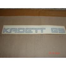 Emblema Do Kadett Gs 89/91 Peça Nova Rara