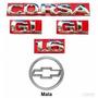 Kit Emblemas Corsa Hatch Gl 1.6 - 97 À 02 - Modelo Original