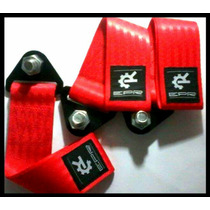 Tow Hook Flexível - Tow Strap - Epr Racing Jdm - Engate