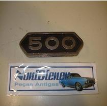 Antigos - Emblema 500 - Ford Dodge Chevrolet Fiat