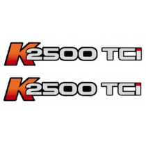 2 Par Dois Adesivos K2500 Tci Lateral Kia Bongo K 2500 Tci