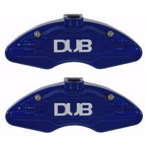 Capa Pinça Freio Azul Bmw 320 Dianteira - Par