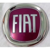 Emblema Porta Malas Siena Vermelho Original 735446703 9,5cm
