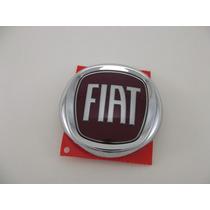 Emblema Fiat Vermelho Traseiro Do Palio G4