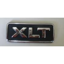 Emblema Cromado Xlt Ford Ranger/mala Ecosport