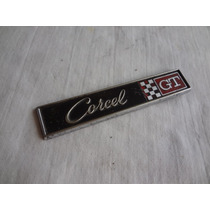 Emblema Corcel Gt Porta Luvas Peça Original Ford