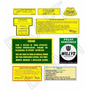 Kit Adesivos Jeep Willys - Motor 6 Cilindros