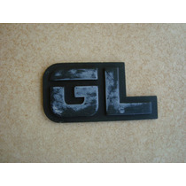 Emblema Gl Capo Traseiro Ford Del Rey Belina 1.8 Corcel