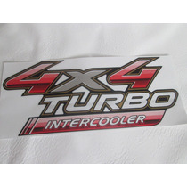Emblema Adesivo Pick-up Hilux 2009 Turbo Intercooler