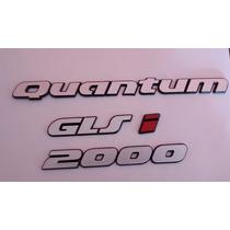 Kit Emblemas Tampa Traseira Quantum Glsi 2000 93/97